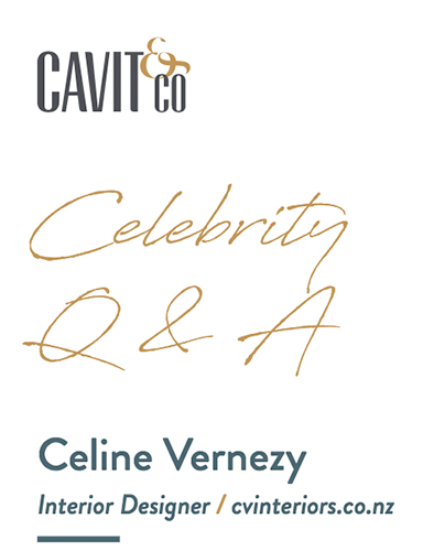 Celebrity Q&A with Celine Vernezy